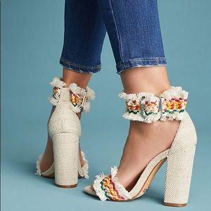 bd5fe2025e5e SCHUTZ Shoes - Schutz Zoola Fringed Heels